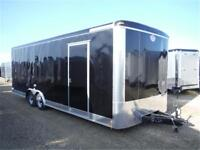 8.5x24 Enclosed Trailer by Forest River - Ramp Door, +12 Height