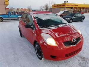 "2007 Toyota Yaris LE ""LOW KM's, BEST PRICE""!"