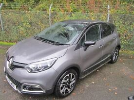 Renault Captur 1.5 Dynamique MediaNav DCi 90 Turbo Diesel 5DR (oyster grey / black roof) 2016