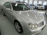 2002 Mercedes-Benz CLK320 C208 Elegance Silver Automatic Coupe Artarmon Willoughby Area Preview