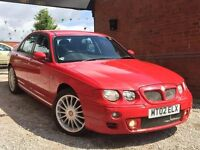 MG ZT 2.5 180 + 4dr GENUINE 64,000 MILES FROM NEW