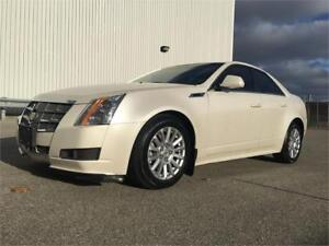 2010 Cadillac CTS AWD PEARL WHITE