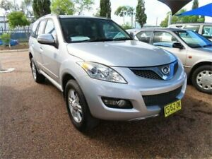 2012 Great Wall X200 K2 Wagon 5dr Man 6sp 4WD 2.0DT [MY12] Silver Manual Wagon Minchinbury Blacktown Area Preview