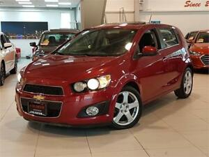 2015 Chevrolet Sonic LT-AUTO-SUNROOF-CAMERA-BLUETOOTH-ONLY 81KM