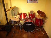 'Dragon' Full Size Drum Kit
