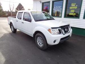 2017 Nissan Frontier SV Crew for only $229 bi-weekly all in!