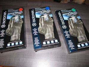 Leather Gloves, ISOTONER SmarTouch, Medium & XL, BNIB