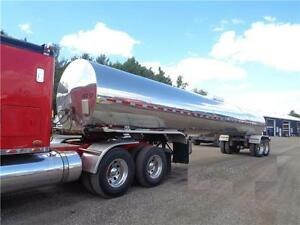 2002 TREMCAR STAINLESS STEEL TANKER TRAILER, 5200 IMP GALLONS