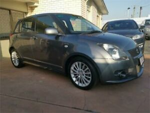 2008 Suzuki Swift RS416 Sport Grey 5 Speed Manual Hatchback Underwood Logan Area Preview