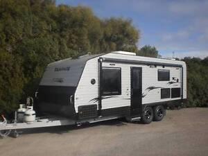 NEW RELEASE SAMPHIRE 22' caravan Clinton Yorke Peninsula Preview