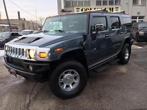 2005 HUMMER H2 **LEATHER-ROOF-ONLY $10999**