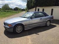 1997 BMW E36 318I CONVERTIBLE/CABRIOLET 5 SPEED MANUAL