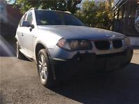 BMW, X3, 4*4, AWD, CUIR, TOIT OUVRANT, FINANCEMENT DISPONIBLE