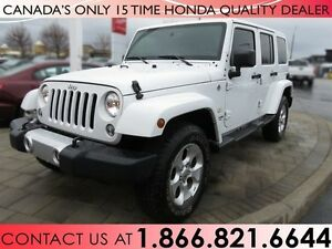 2015 Jeep Wrangler UNLIMITED SAHARA, $128/WEEKLY, NO ACCIDENTS!