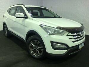 2012 Hyundai Santa Fe DM MY13 Active White 6 Speed Sports Automatic Wagon Derwent Park Glenorchy Area Preview
