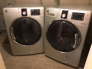 deluxe washer and dryer
