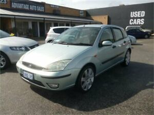 2002 Ford Focus LR LX Crystal Mint 5 Speed Manual Hatchback Wangara Wanneroo Area Preview