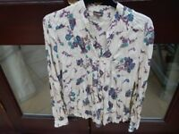 Ladies Phase Eight Size 14 Silky Blouse
