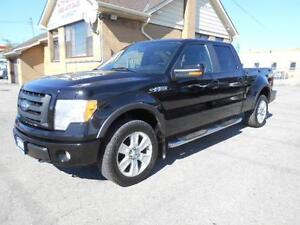 2009 FORD F-150 FX4 Flareside CrewCab 4X4 Leather Sunroof Navi