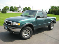 1999 Mazda B-Series Pickup Truck, Low KM runs good, need repair