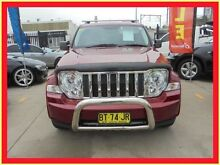 2010 Jeep Cherokee KK MY11 Limited Burgundy 4 Speed Automatic Wagon Holroyd Parramatta Area Preview