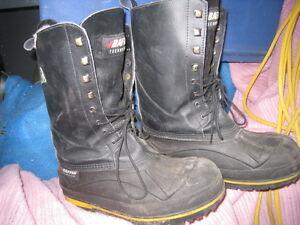 Steel Toed Winter Work Boots