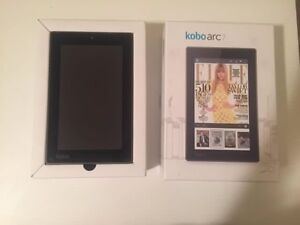 Kobo arc 7, 16 Gb. High definition android. In BOX, 10/10