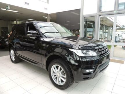 2014 Land Rover Range Rover LW Sport 3.0 TDV6 SE Santorini Black 8 Speed Automatic Wagon Nowra Nowra-Bomaderry Preview