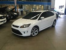 2010 Ford Focus LV XR5 Turbo White 6 Speed Manual Hatchback Beckenham Gosnells Area Preview