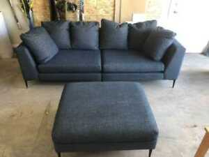 New couch with Ottoman (chaise)