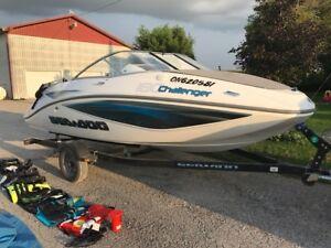 2007 Seadoo challenger 180 boat