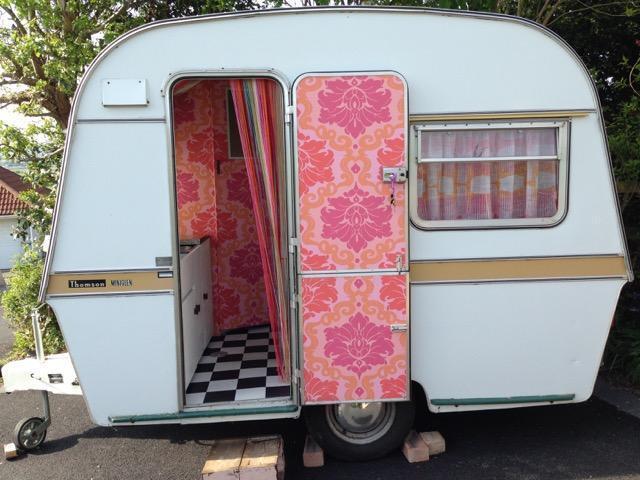 2 Berth Thompson Mini Glen 1969 Vintage Caravan In