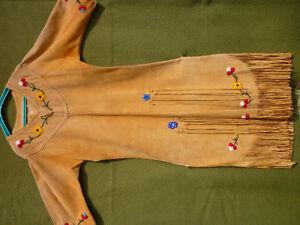 Indigenous Deer-Hide Ceremonial Dress