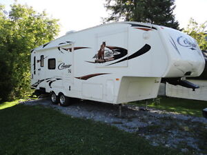 fifth wheel cougar 26 sab 2011 .