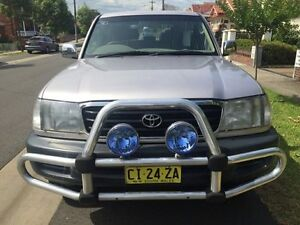 1999 Toyota Landcruiser FZJ105R GXL Silver 4 Speed Automatic Wagon Croydon Burwood Area Preview