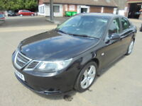 Saab 9-3 TURBO EDITION TID. ONE OWNER FROM NEW. FULL SERVICE HISTORY (black) 2010