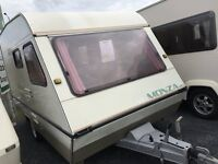 Monza 4/5 Berth with Full Awning. Clean & Tidy @ Tricam Caravans - Loads Caravans in Stock.