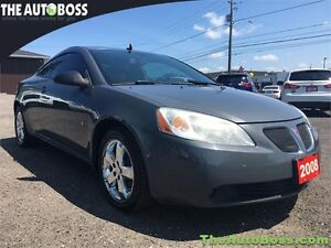 2008 Pontiac G6 GT Coupe CERTIFIED! WARRANTY! SUNROOF! SPORTY!