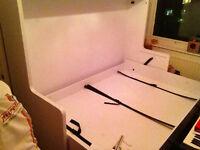 Double Desk Bed Murphy style