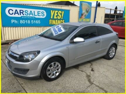 2005 Holden Astra AH MY05 CD Silver 4 Speed Automatic Coupe