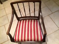 Pair of Old Style Mahogany Chairs