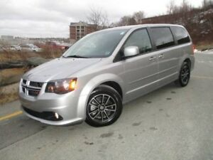 2017 Dodge GRAND CARAVAN GT (HEATED FRONT & REAR LEATHER SEATS,