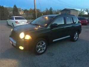2008 JEEP COMPASS LIMTIED SUV 4X4 SUBROOF CERTIFIED & E-TEST