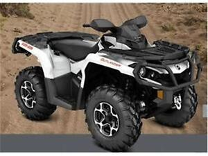2016 CAN-AM Outlander 650 XT