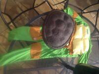 Teenage Mutant Ninja Turtle Dress up with Turtle Shell
