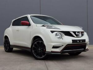 2018 Nissan Juke F15 MY18 NISMO 2WD RS White 6 Speed Manual Hatchback Berwick Casey Area Preview