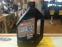 CASTOR927 2 CYCLE RACING OIL IN STOCK AT HALIFAX MOTORSPORTS!
