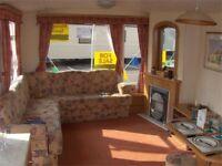 Caravan for sale East Coast 12 month season Sea Views Low Pitch Fees Not Haven Bridlington Skipsea