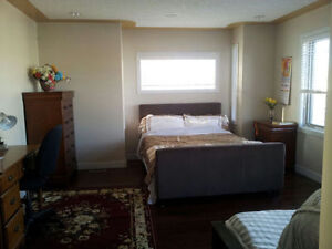 master bed room in a house near 39ave&macleod trail SW
