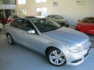 2012 Mercedes-Benz C200 W204 MY12 BlueEFFICIENCY 7G-Tronic + Avantgarde Silver 7 Speed Albion Brisbane North East Preview